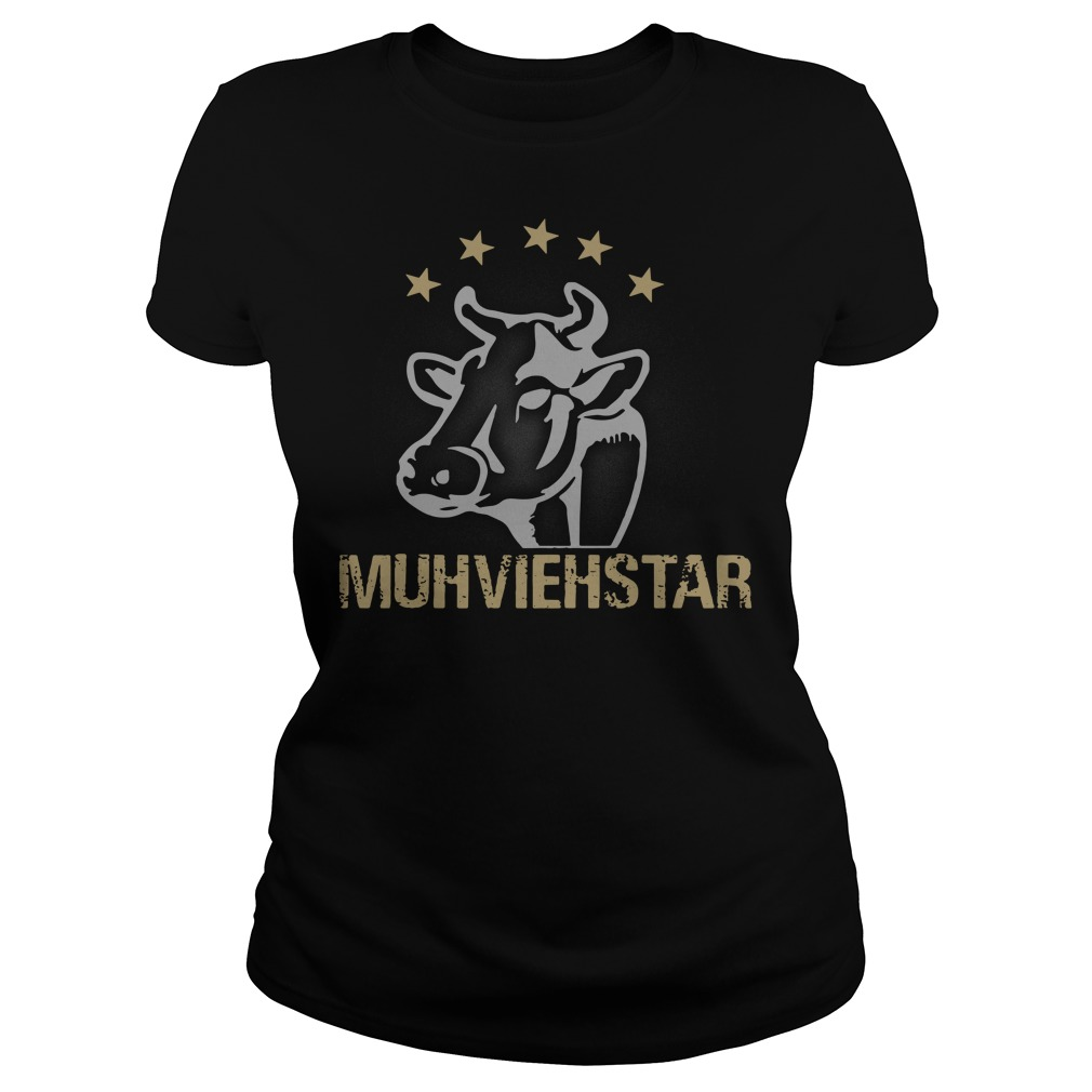 Cow muhviehstar Ladies tee