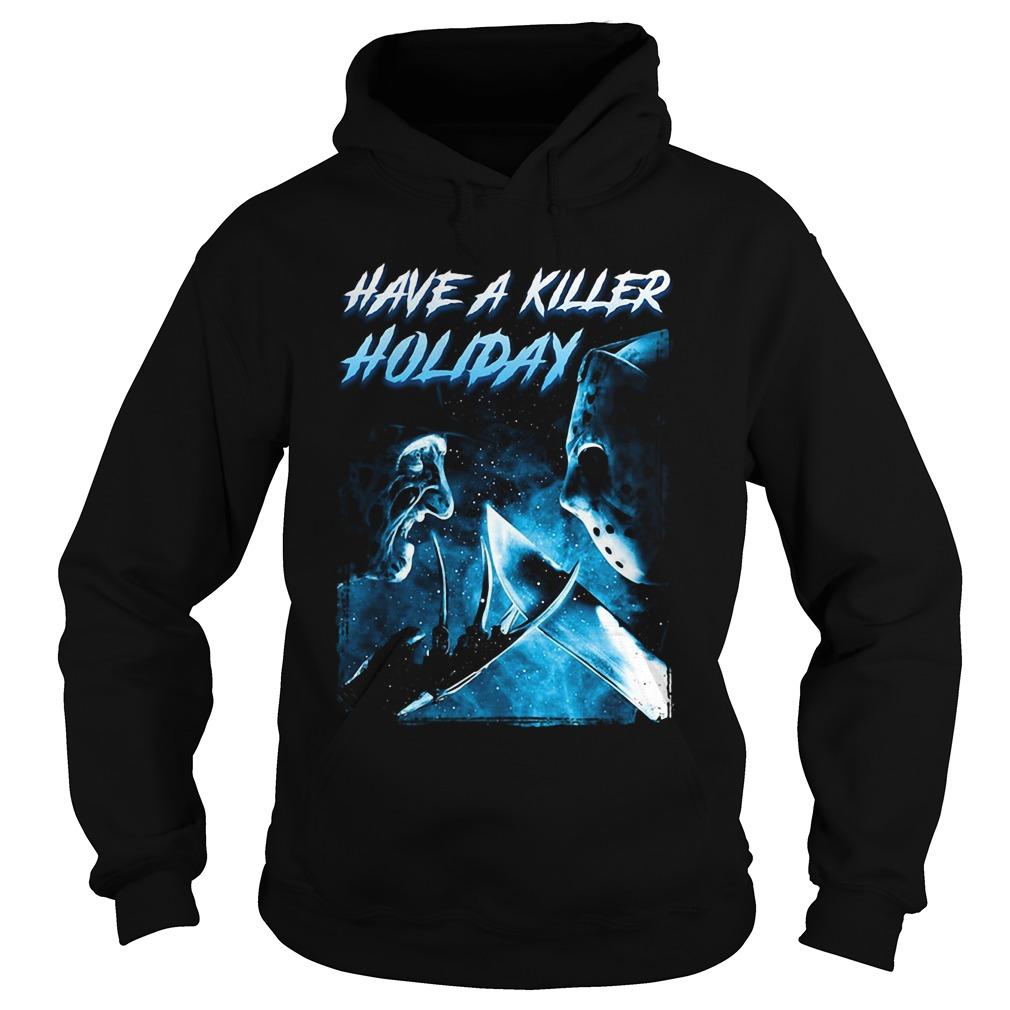 Freddy Krueger have a killer holiday Jason Voorhees Hoodie