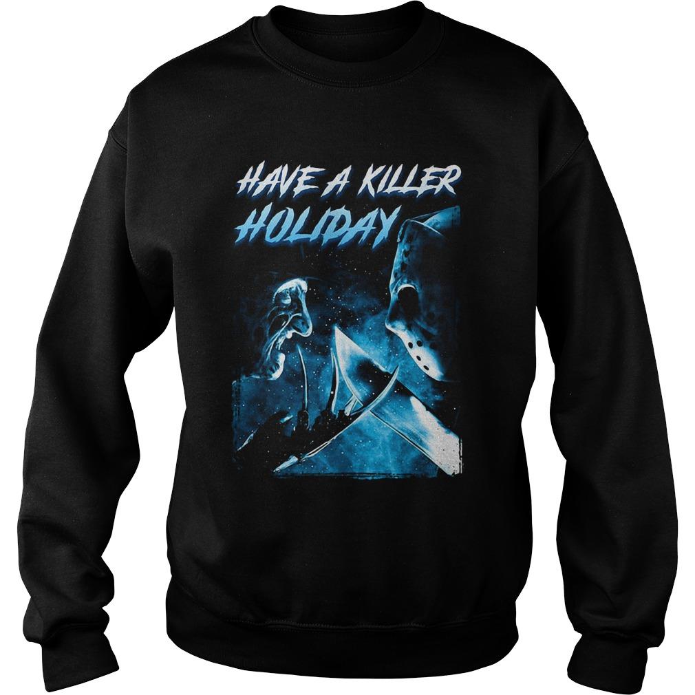 Freddy Krueger have a killer holiday Jason Voorhees Sweater