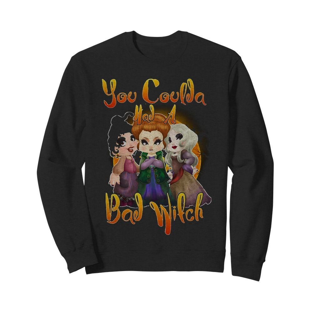 Hocus Pocus you coulda had a bad witch Halloween Sweater