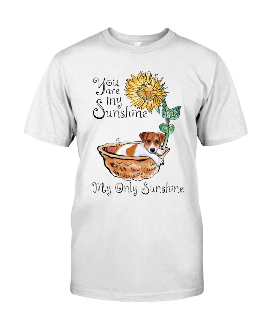 Jack Russell you are my sunshine my only sunshine shirt