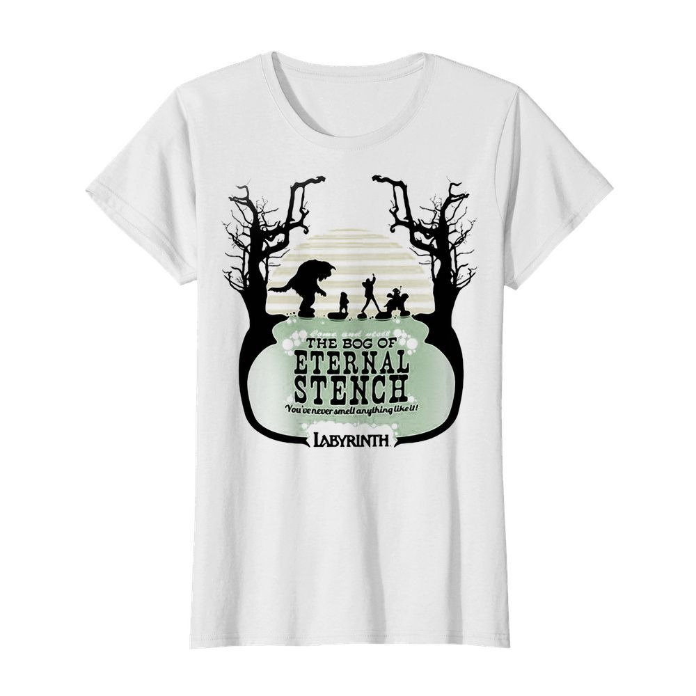 Labyrinth come and visit the bog of Eternal Stench Ladies Tee