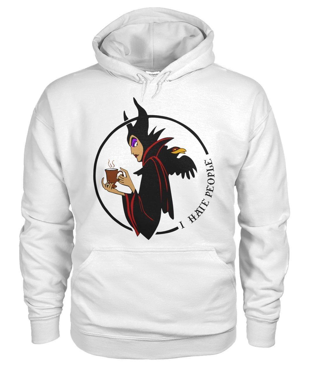 Maleficent I hate people Hoodie