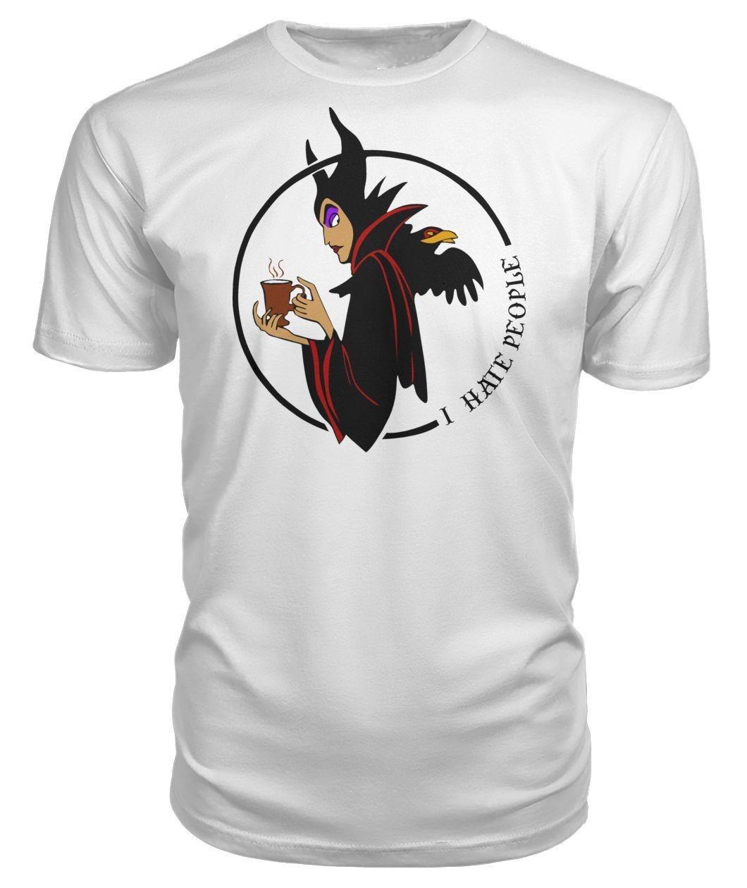 Maleficent I hate people Ladies Tee
