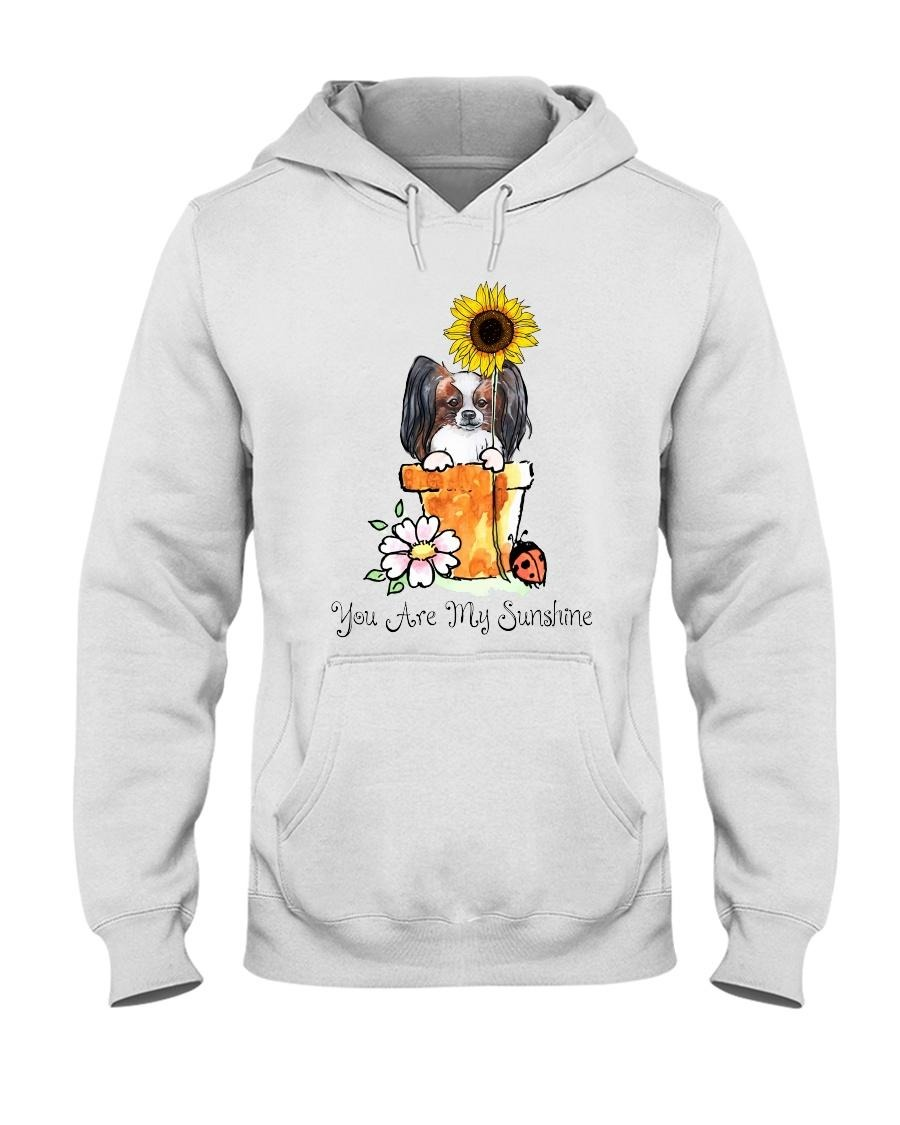 Papillon sunflower you are my sunshine Hoodie