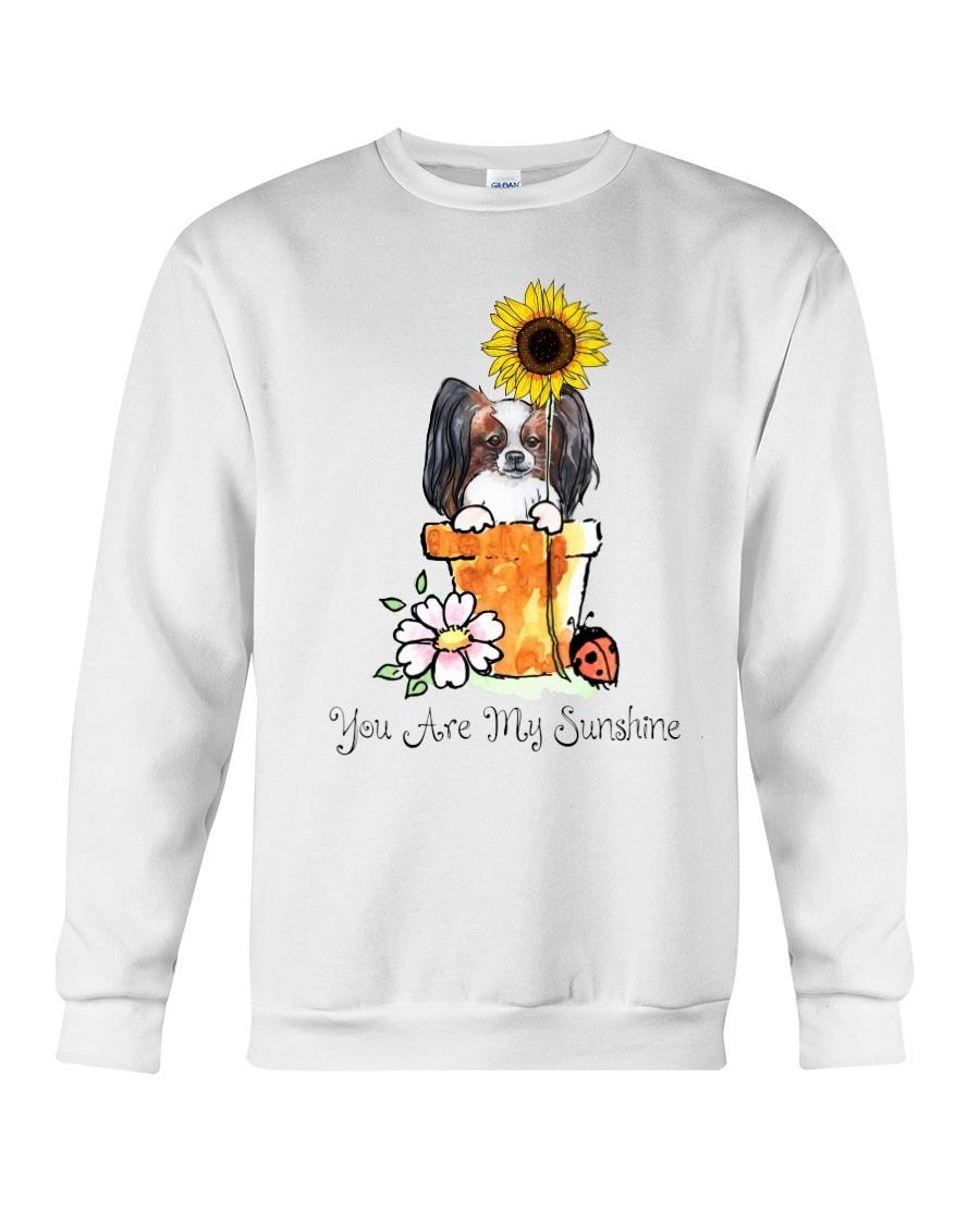 Papillon sunflower you are my sunshine Sweater