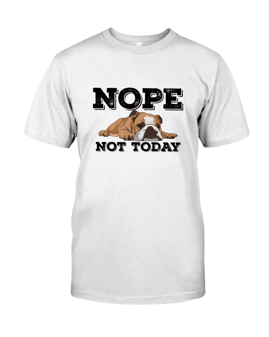 Pug nope not today shirt