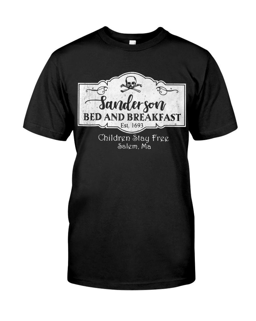 Sanderson bed and breakfast est 1693 children stay free Salem shirt