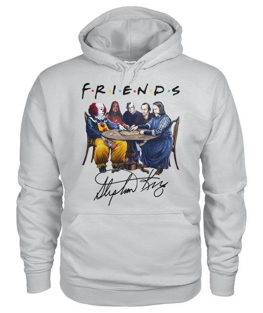 Stephen King Horror Friends signature Hoodie