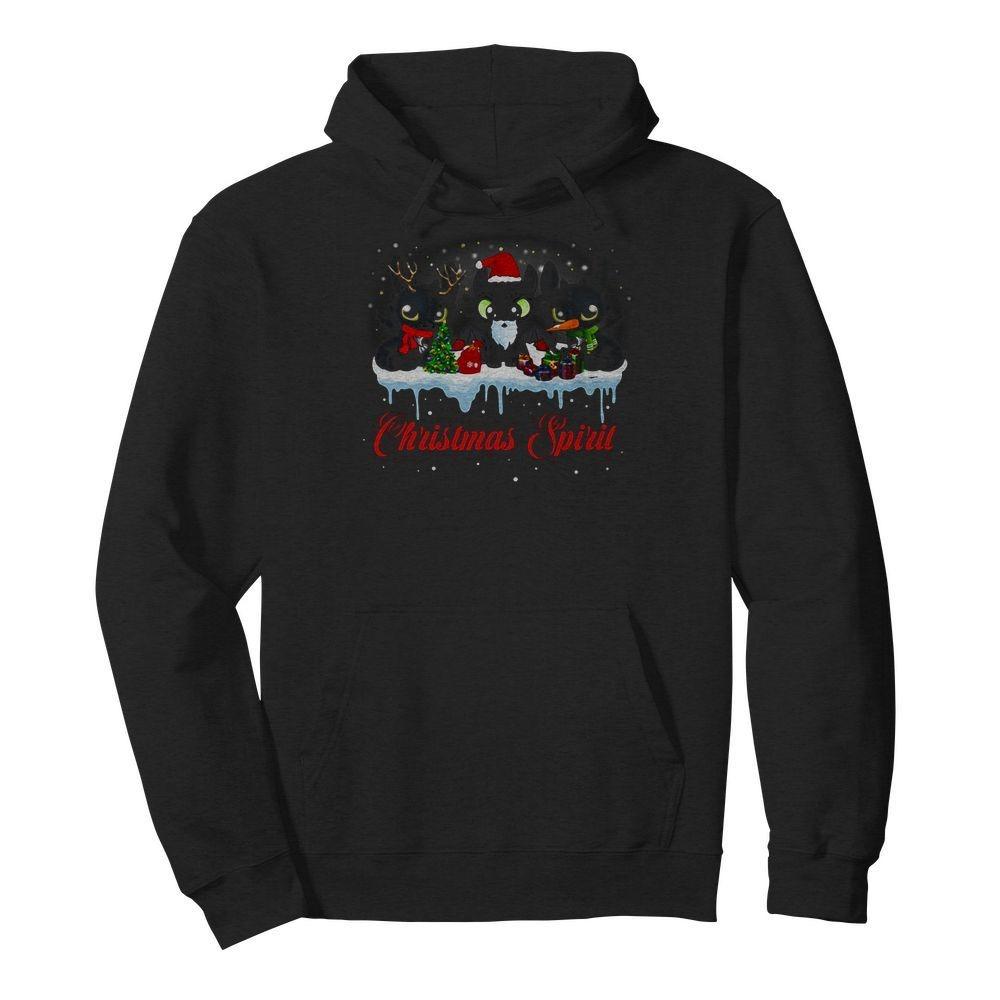 Toothless Christmas spirit Hoodie