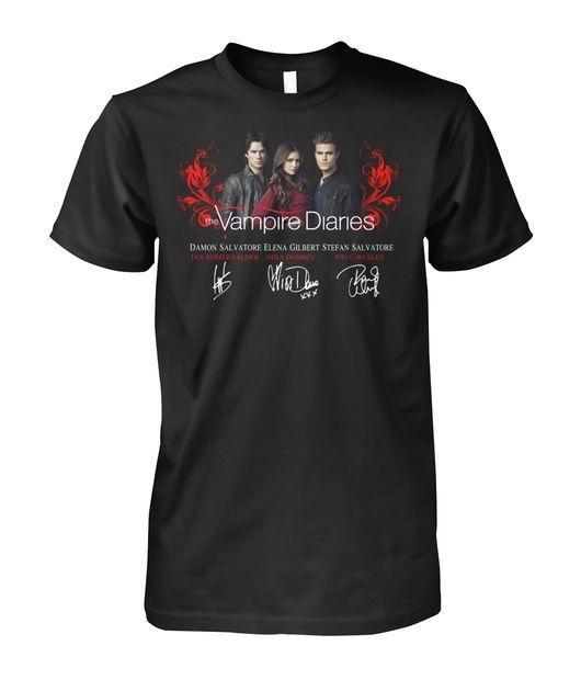 The Vampire Diaries signature shirt