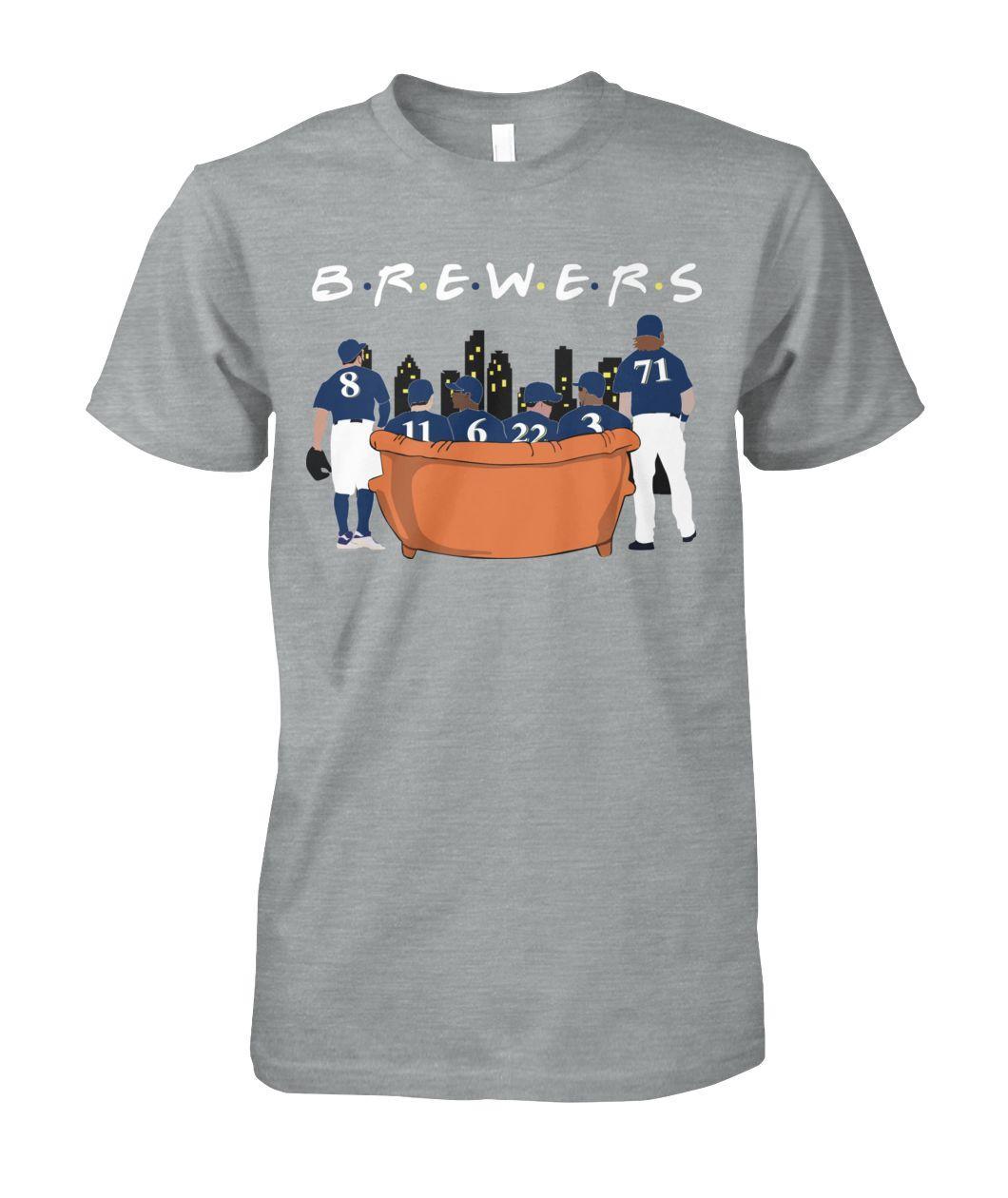 Milwaukee Brewers Friends TV Show Shirt