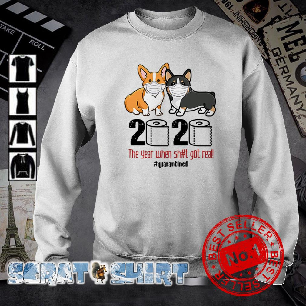 Corgis Quarantined 2020 sweater