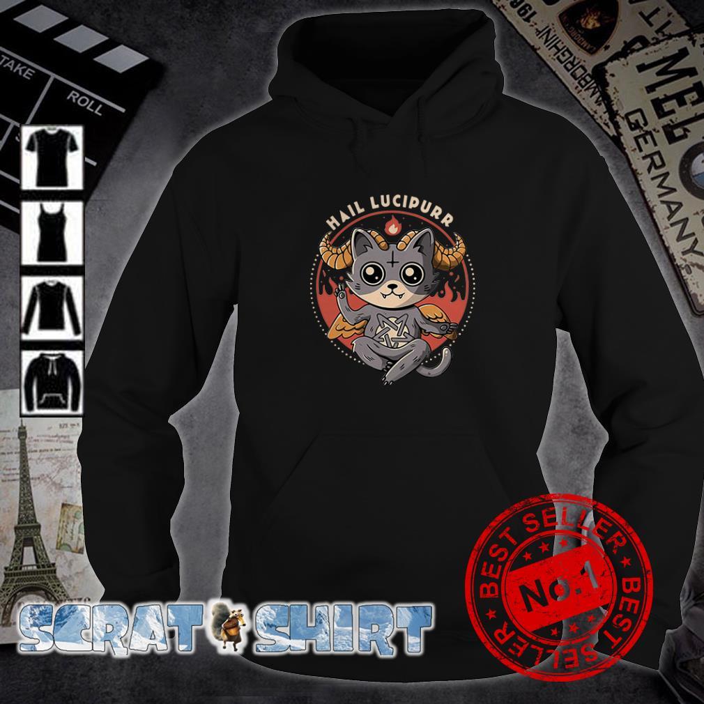 Satan Cat Hail Lucipurr hoodie
