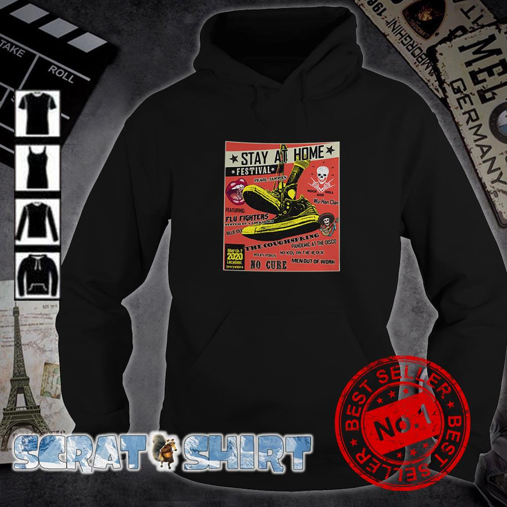Stay At Home Festival The Coughspring No Cure hoodie