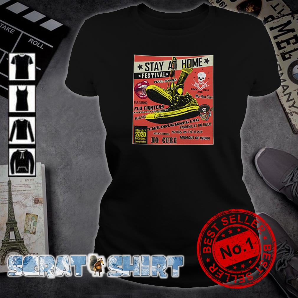 Stay At Home Festival The Coughspring No Cure ladies tee