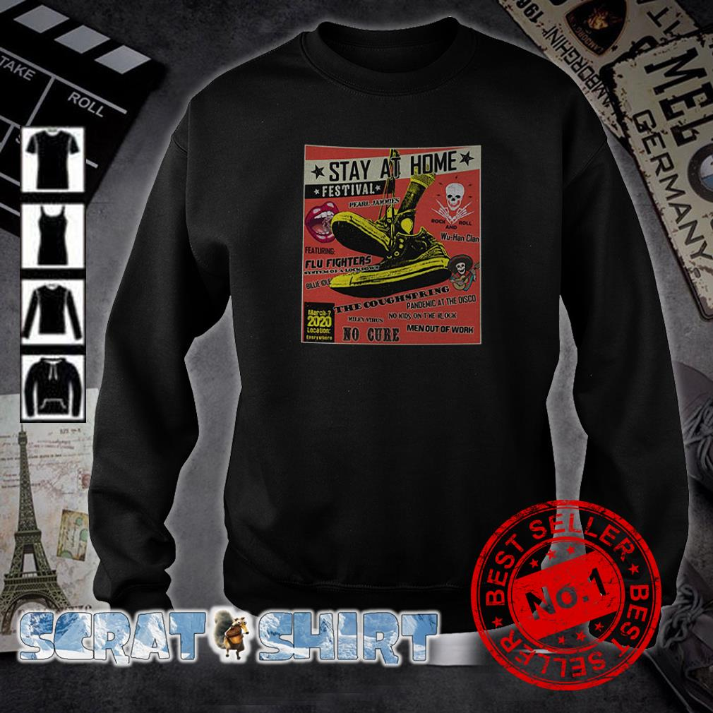Stay At Home Festival The Coughspring No Cure sweater
