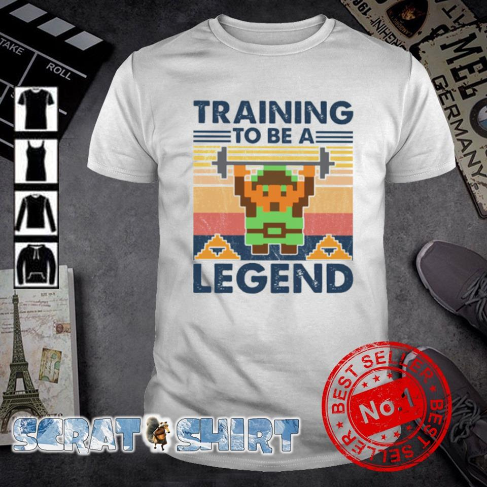 Minecraft Training To Be A Legend vintage shirt