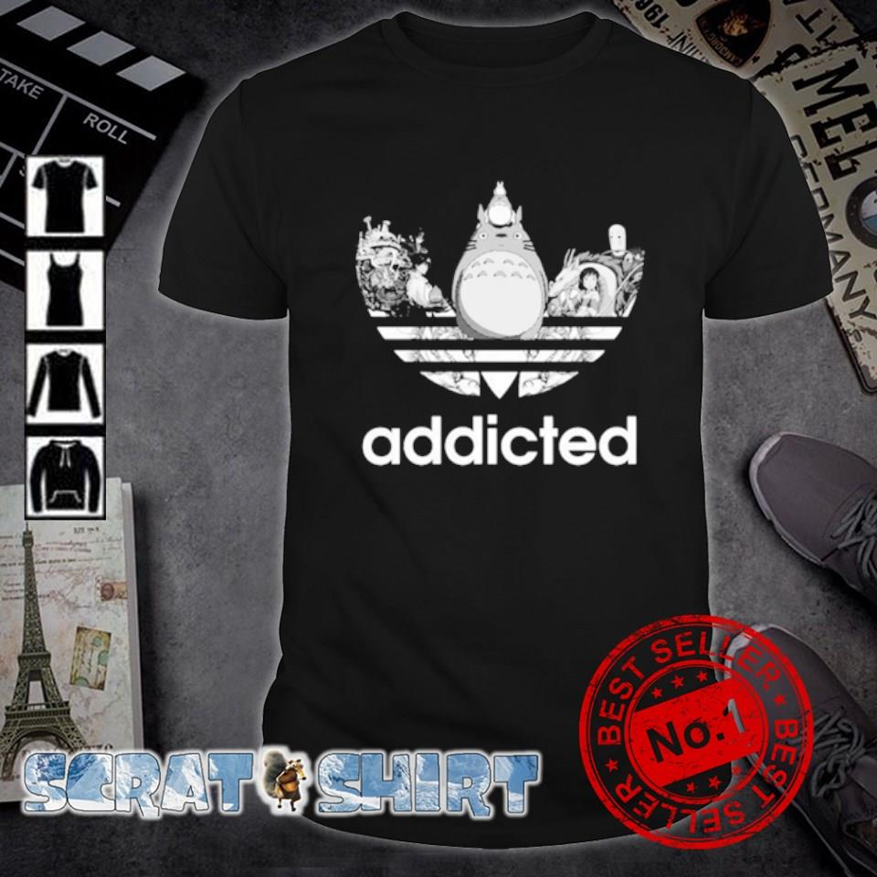 My Neighbor Totoro adidas addicted shirt