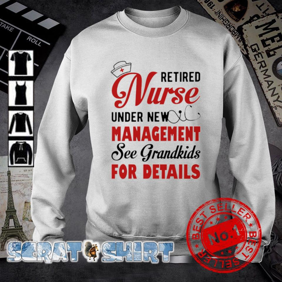 Retired Nurse under new management see grandkids for details s sweater