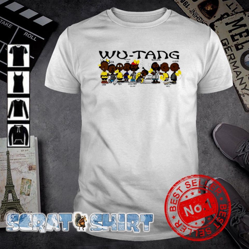 Wu-Tang clan members shirt