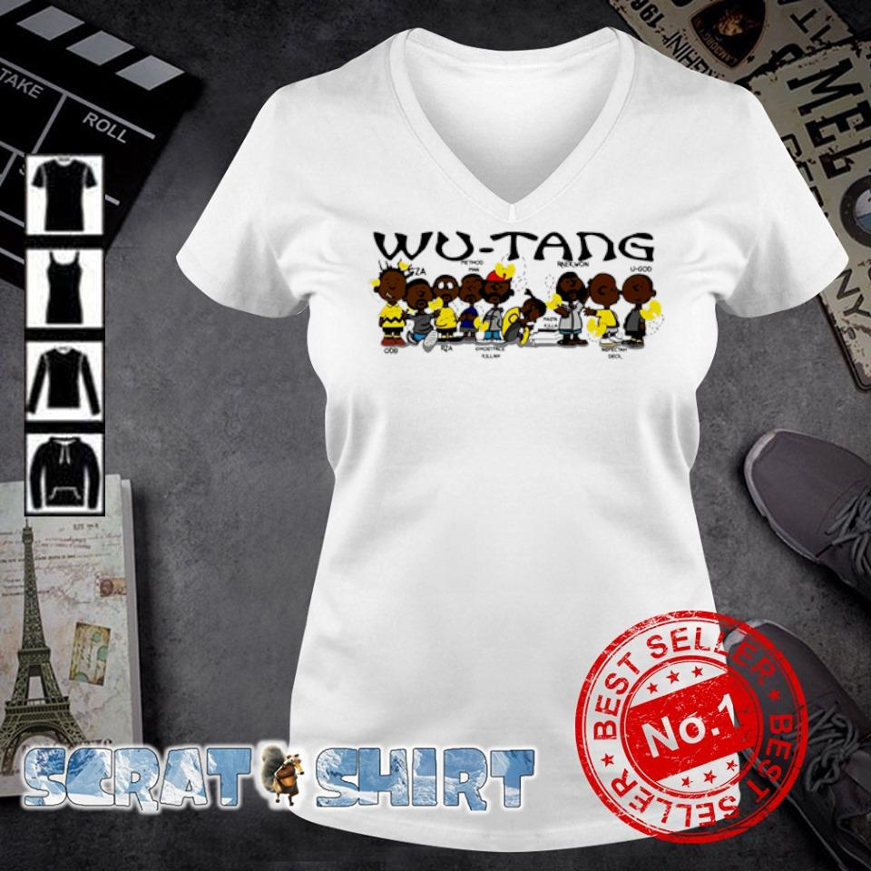 Wu-Tang clan members s v-neck t-shirt
