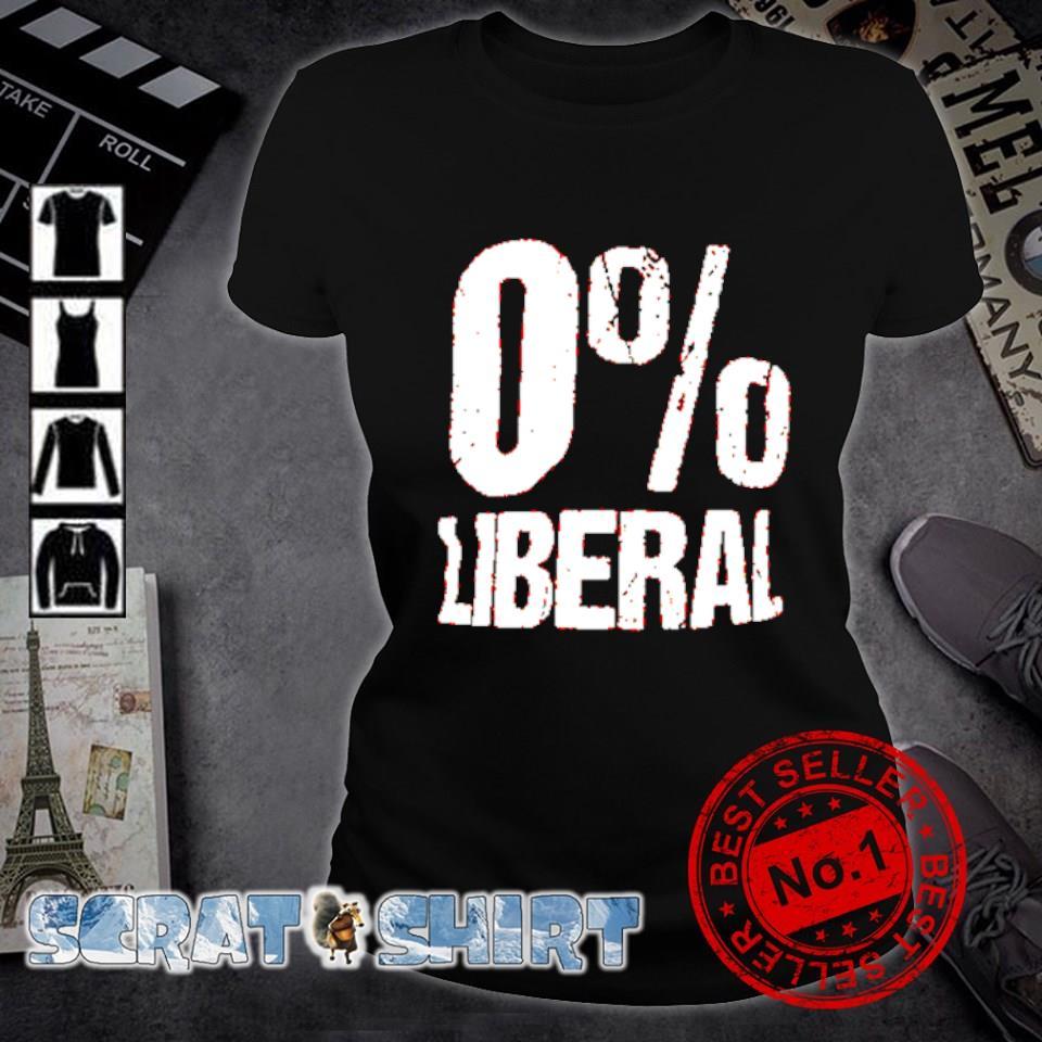 0% Liberal s ladies-tee