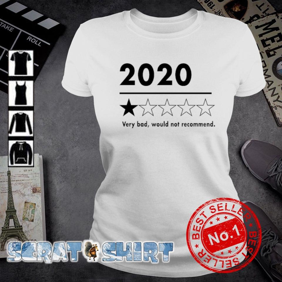 2020 very bad would not recommend s ladies-tee