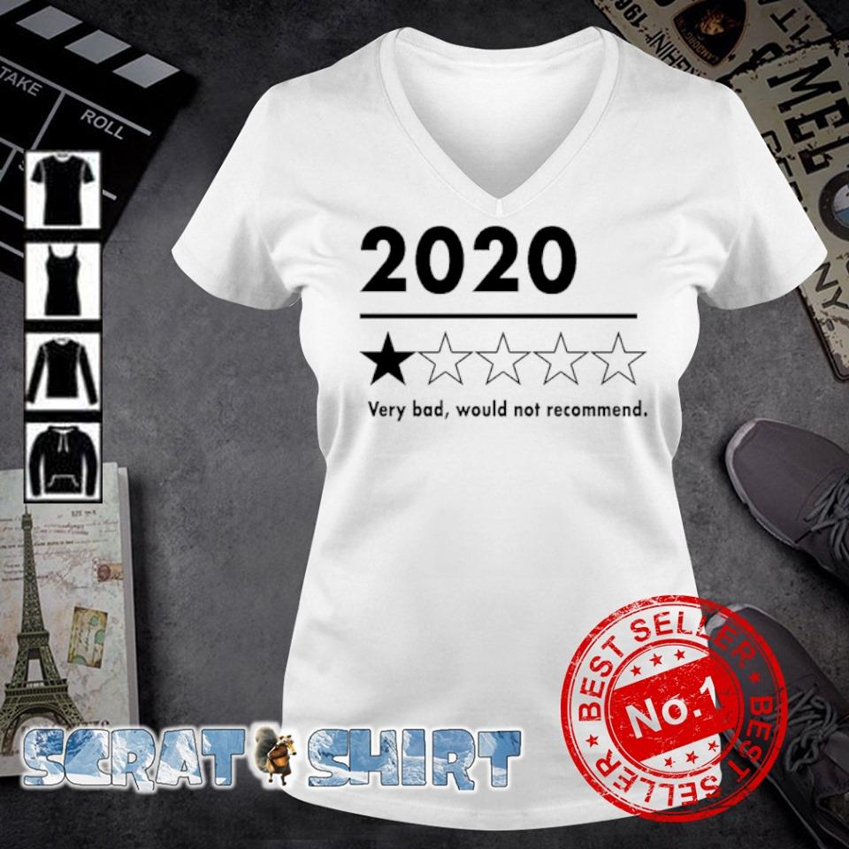 2020 very bad would not recommend s v-neck t-shirt
