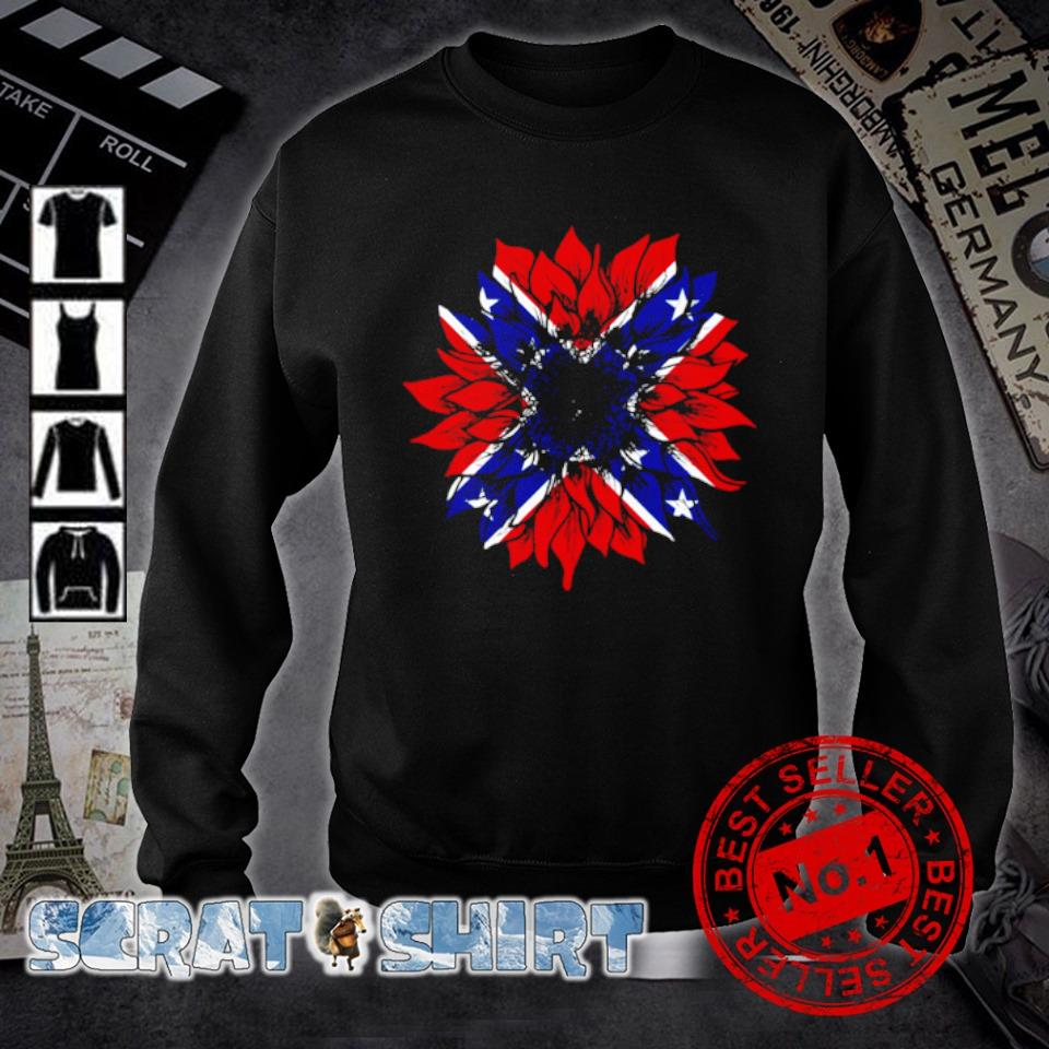 American flag Redneck Sunflower s sweater