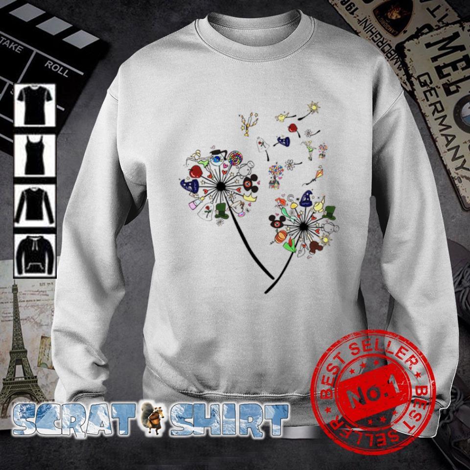 Dandelion disney character s sweater