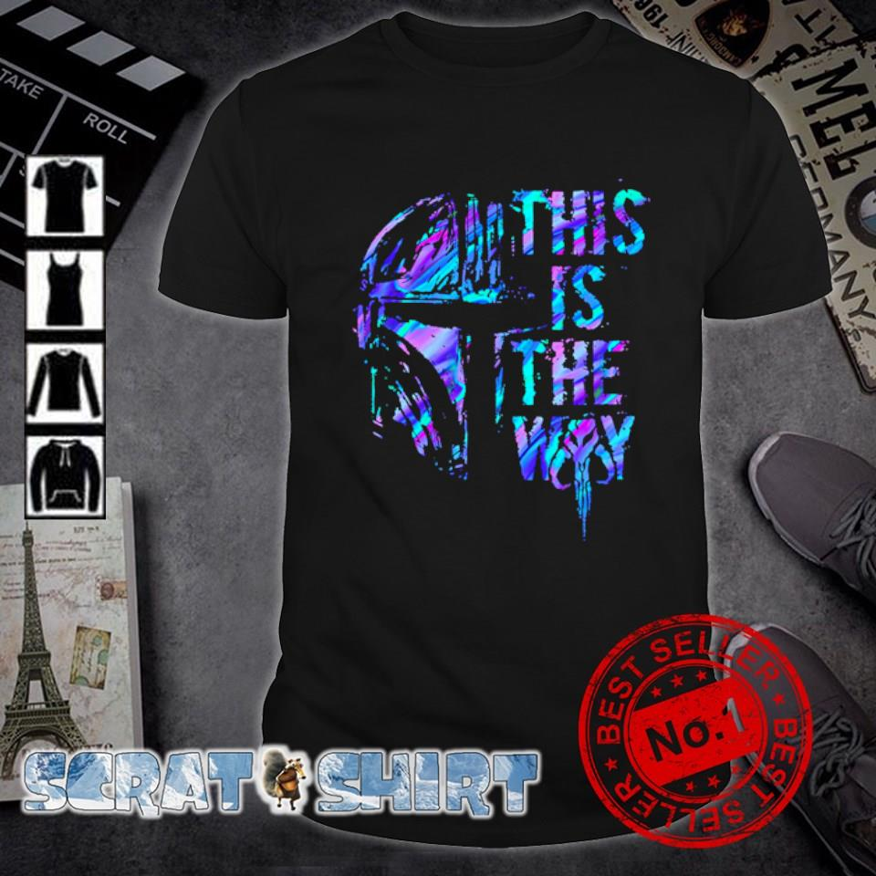 Darth Vader this is the way shirt