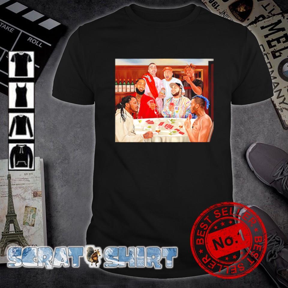 Drake Lil Peep Nipsey Hussle Mac Miller Juice WRLD shirt