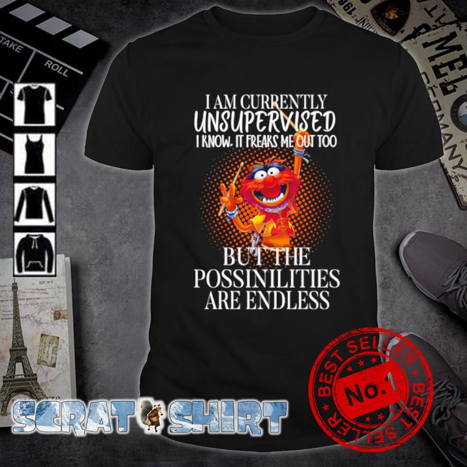 Dumpet I am currently unsupervised I know it freaks me out too shirt