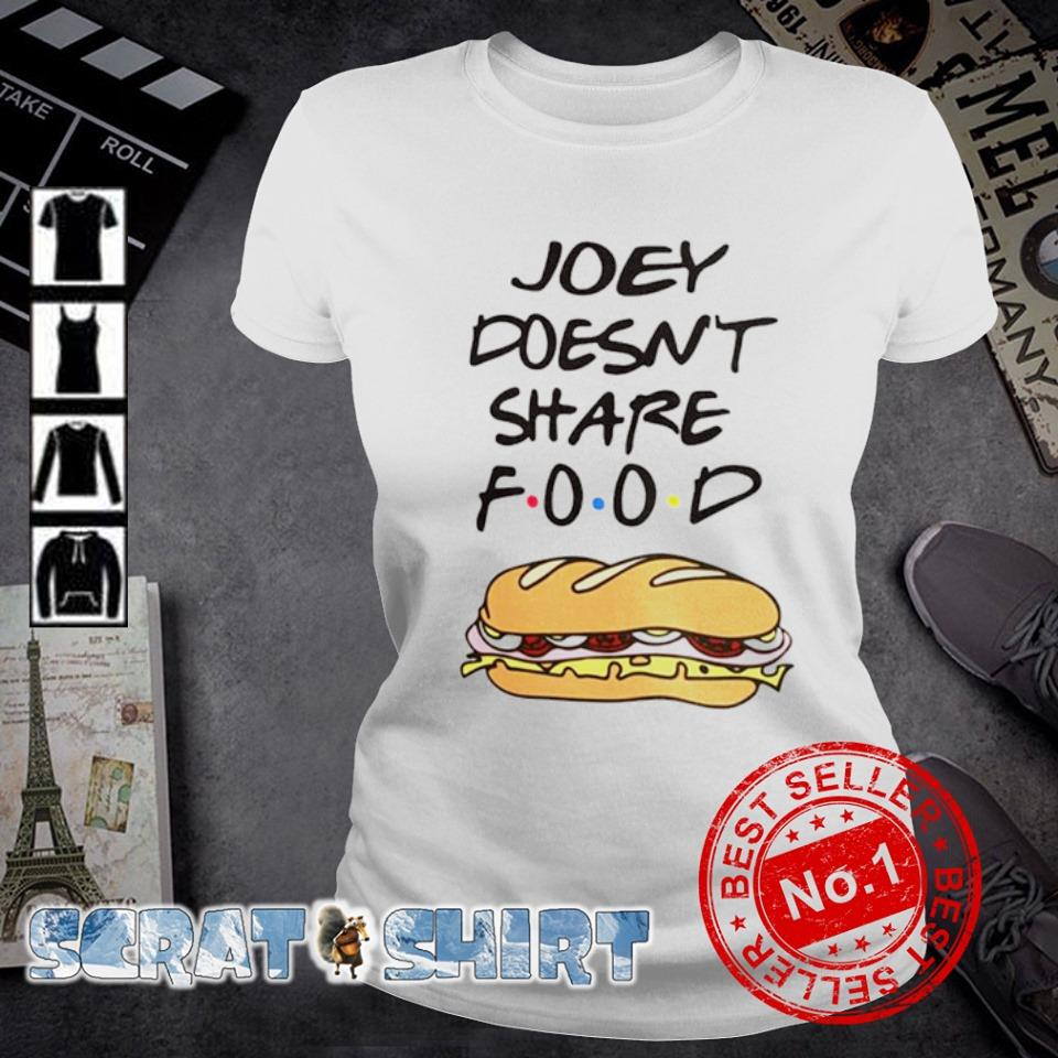 Friends Joey doesn't share food shirt, hoodie, sweate and ...