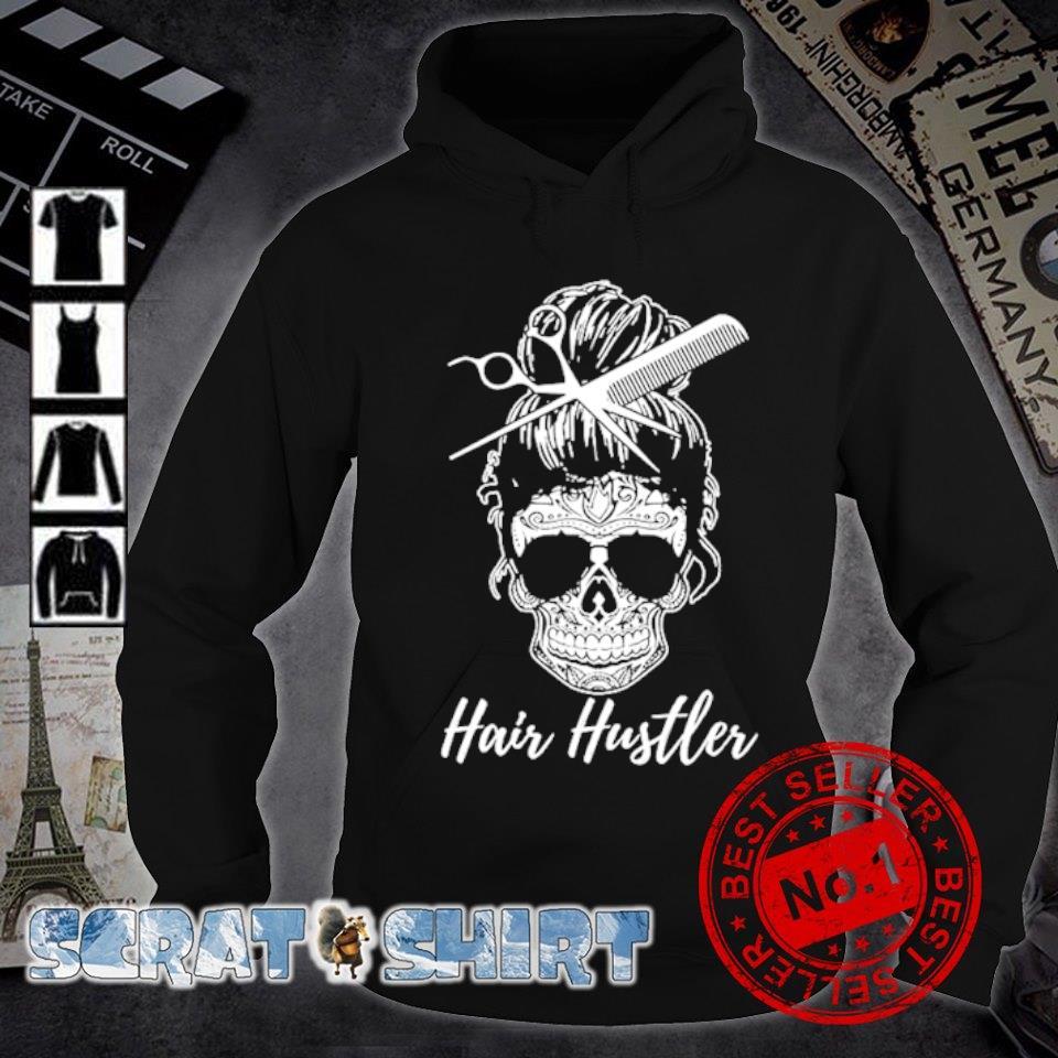 Hair Hustler Skull s hoodie