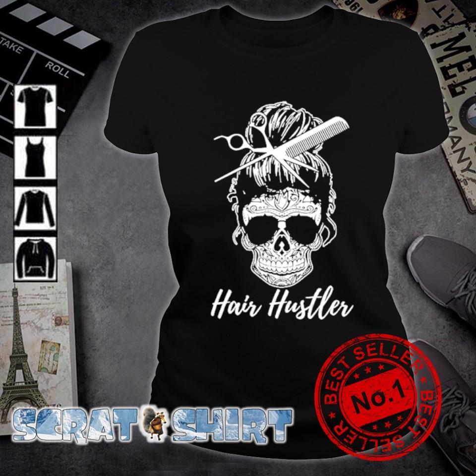 Hair Hustler Skull s ladies-tee
