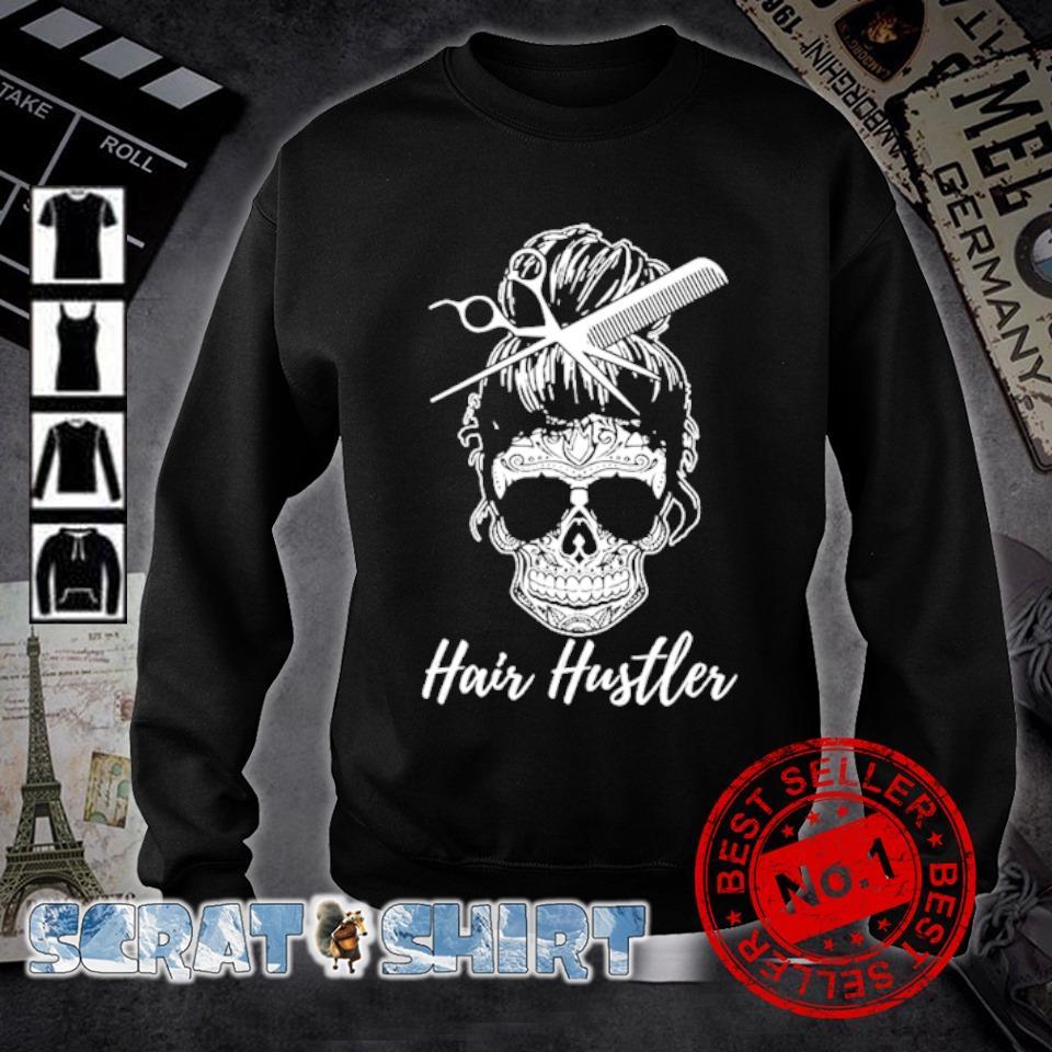 Hair Hustler Skull s sweater