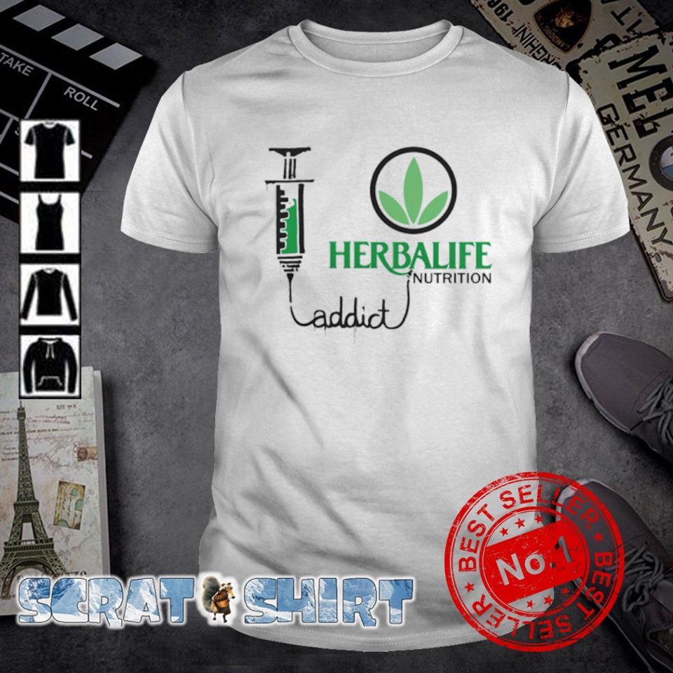 Herbalife nutrition addict shirt