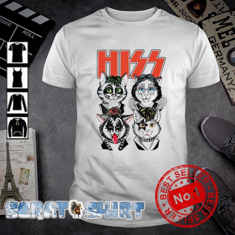 Hiss rock band Cats shirt