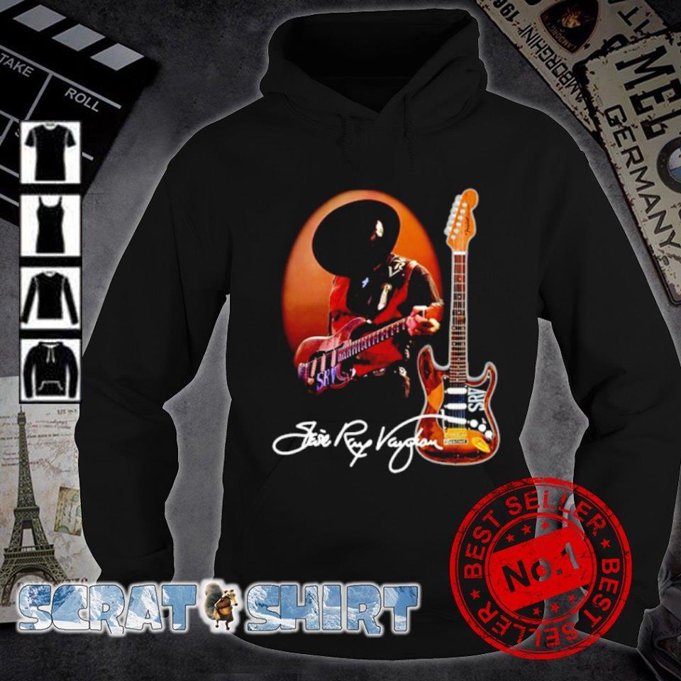 Legend Stevie-Ray-Vaughan signature s hoodie
