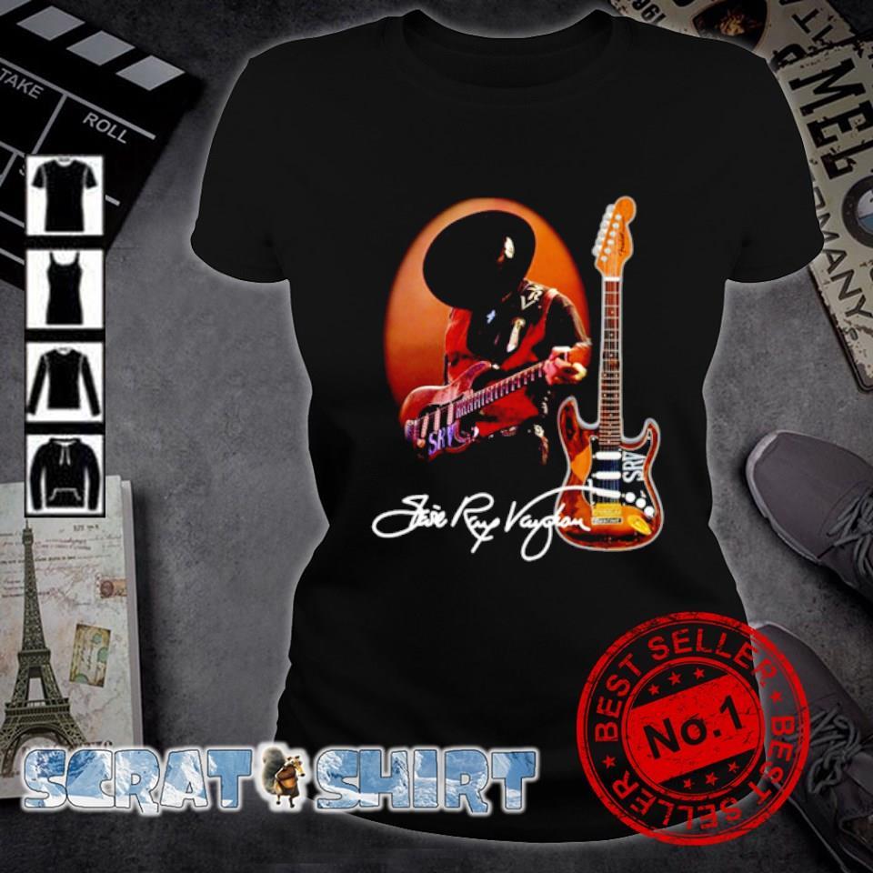 Legend Stevie-Ray-Vaughan signature s ladies-tee