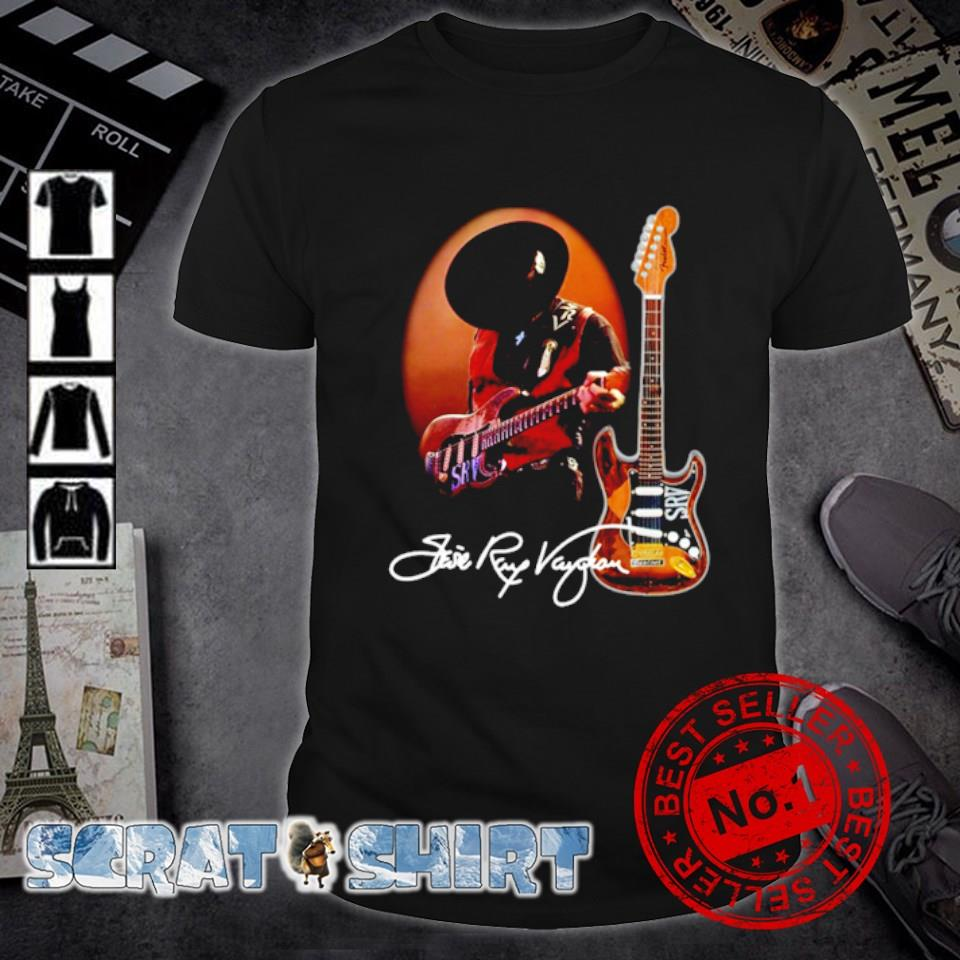 Legend Stevie-Ray-Vaughan signature shirt