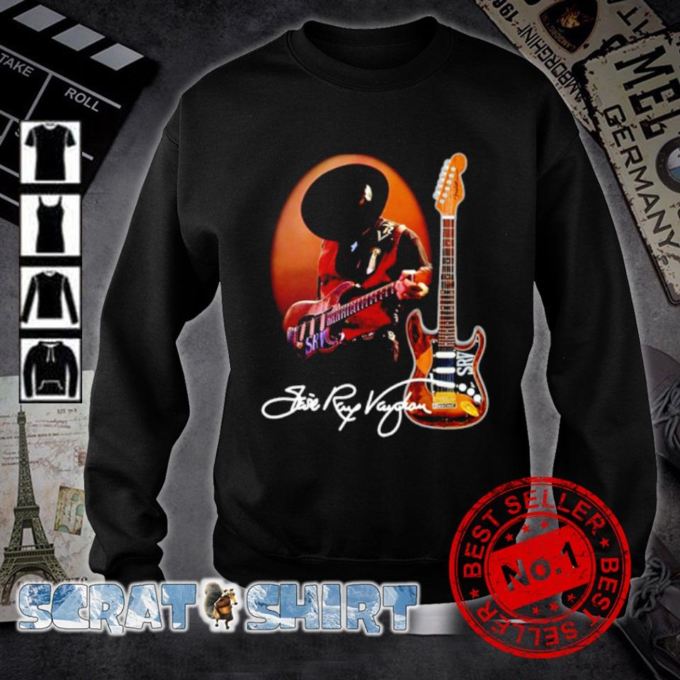 Legend Stevie-Ray-Vaughan signature s sweater