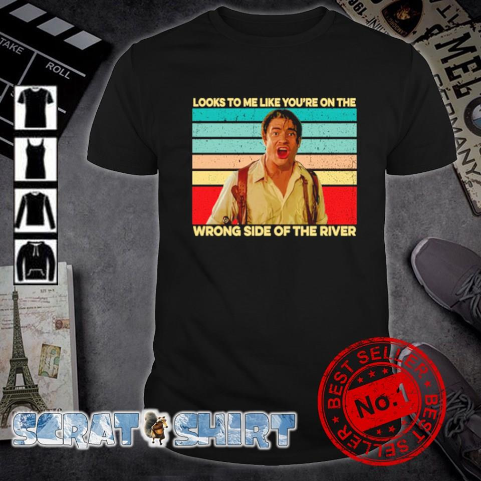 Looks to me like you're on the wrong side of the river vintage shirt
