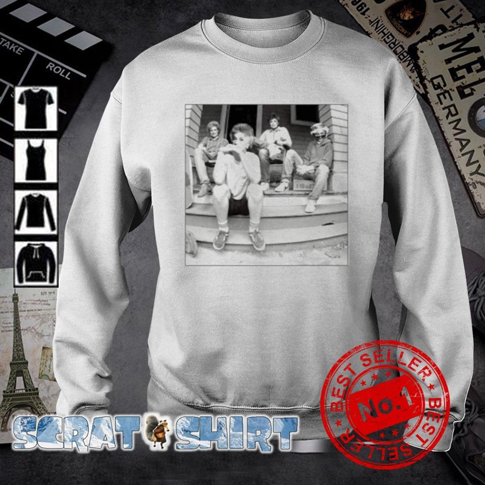 Minor Threat Ep cover Golden Girls s sweater