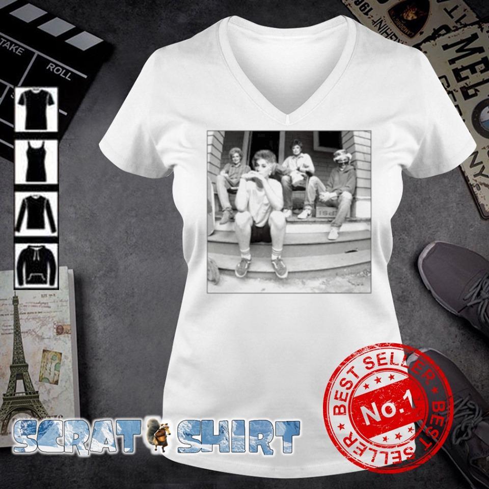 Minor Threat Ep cover Golden Girls s v-neck t-shirt