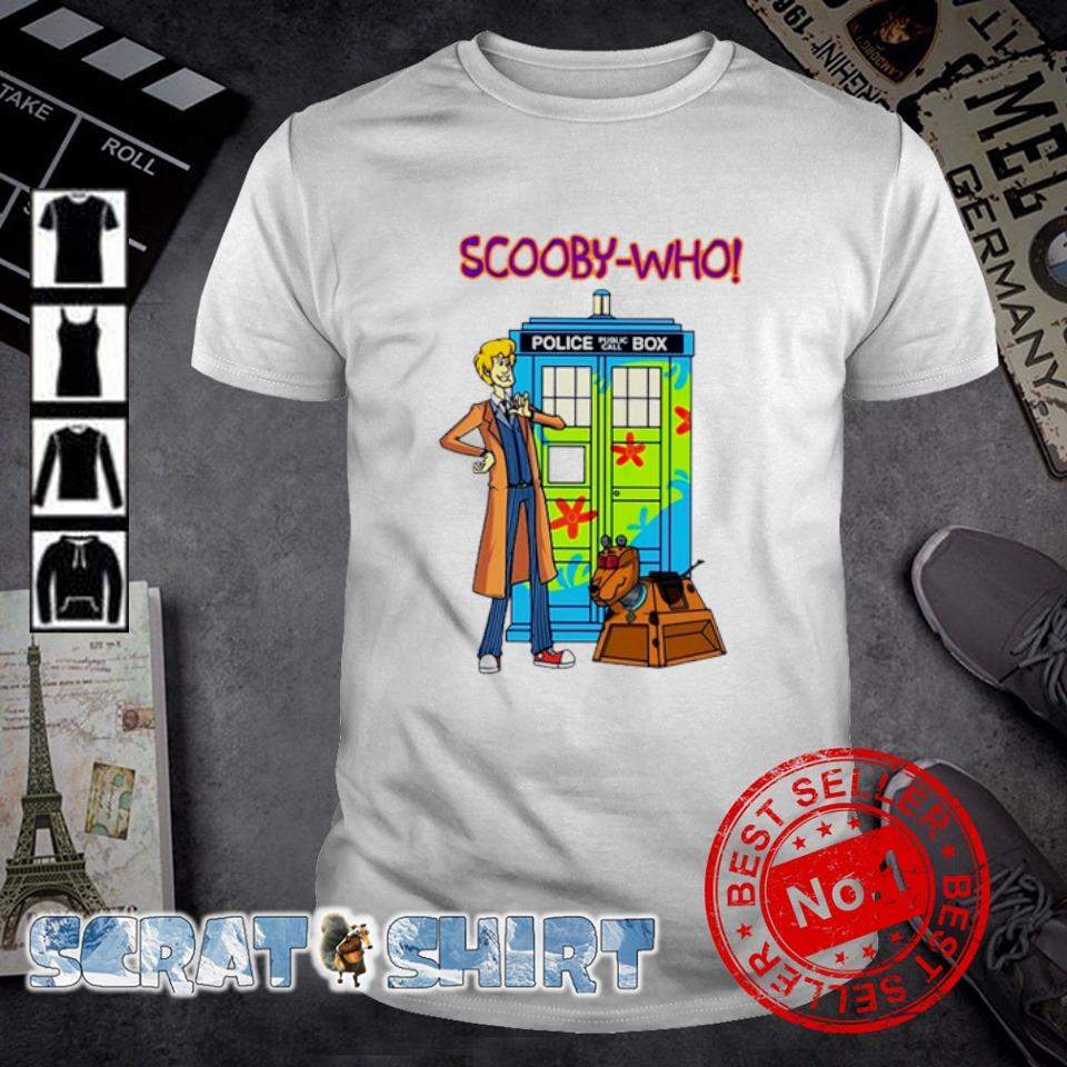 Scooby Who Scooby Doo and Dr Who shirt