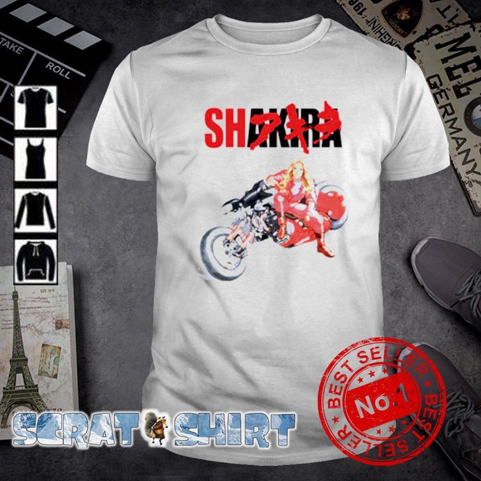 Shakira Akira Shotaro Kaneda motorcycle shirt