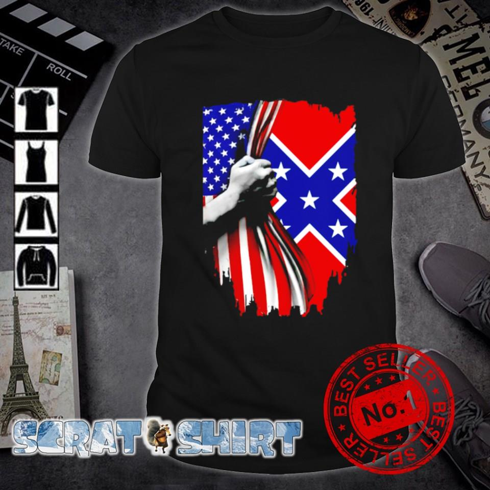 Southern United States flag shirt